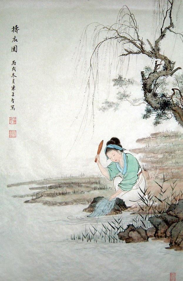 【柳岸】捣练子三阕(古韵)